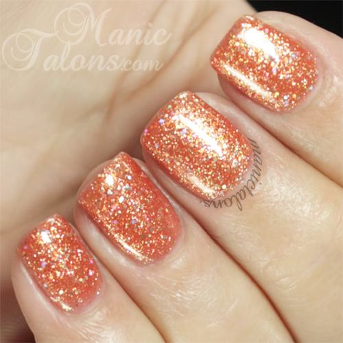 Madam Glam Gel Polish Sandy Sparkles (#061) Swatch