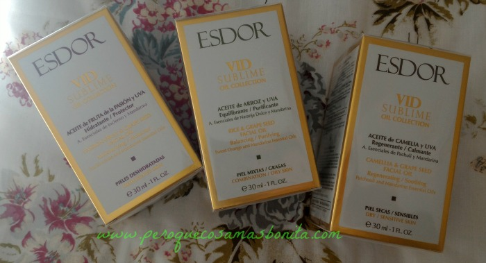 Vid Sublime Oil Collection de Esdor