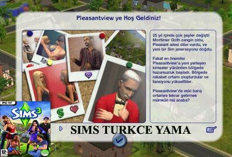 The Sims 3 Türkçe Yama İndir