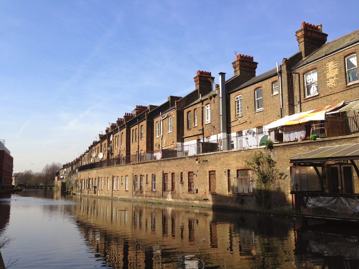 Grand Union Canal, near Harrow Road
