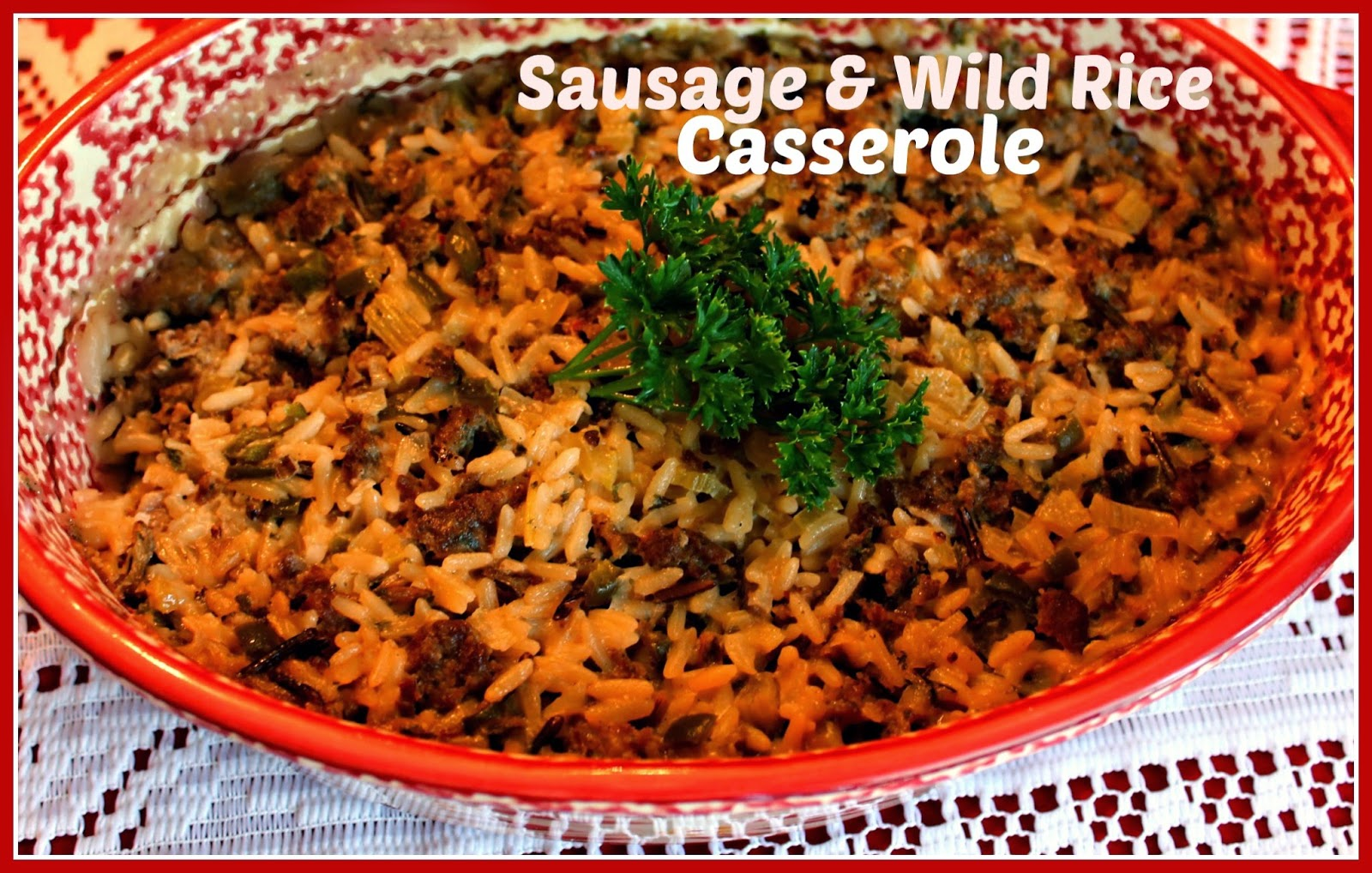 Spicy Sausage And Rice Casserole Recipes — Dishmaps