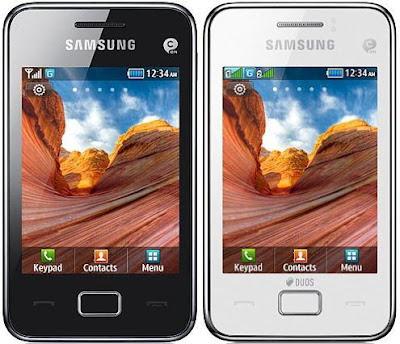 Spek dan Harga HP Samsung Galaxy Star 3 S5222