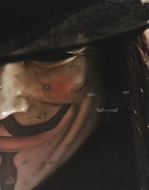 V Vendetta las ideas son a prueba de balas