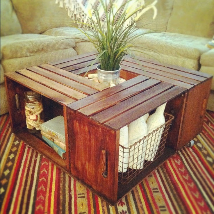 Homemade coffee table