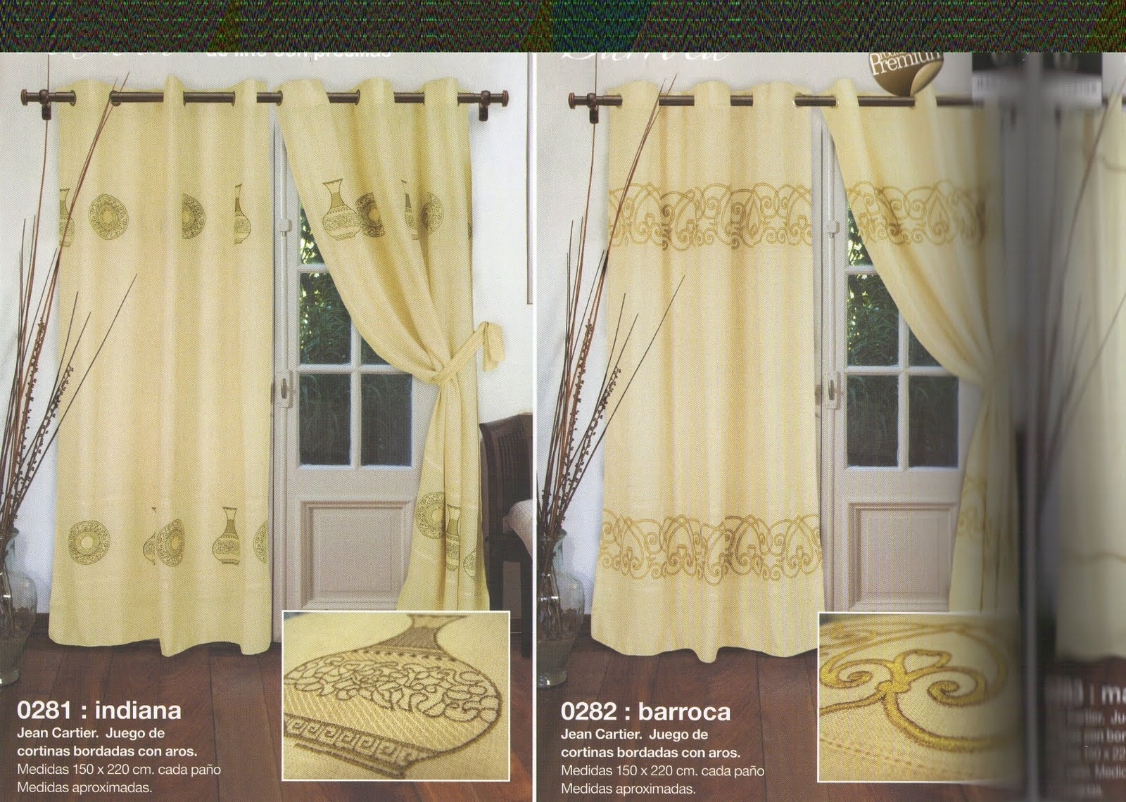 jean cartier temporada oto o invierno 2011 cortinas y