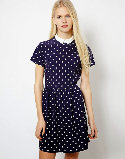 polka dot dress river island