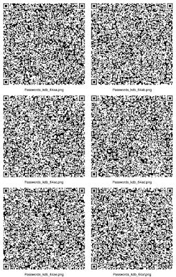 QR code Backup