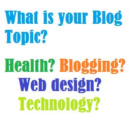 Bagaimana menentukan topik blog baru anda?