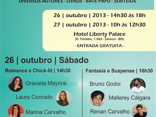 Evento literário em Belo Horizonte: 1ª BH que Lê