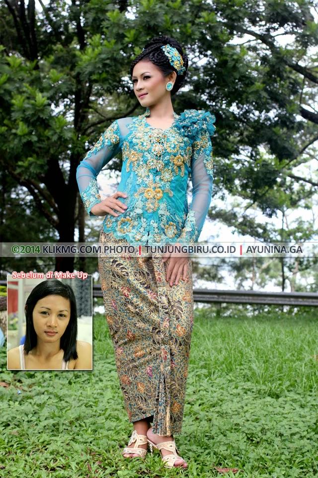 Tunjung Biru Make Up & Kebaya Kreasi ( Contoh Tata Rias Wisuda ) - oleh Tunjung Biru Rias Pengantin Purwokerto, Talent : Ayunita [Model Purwokerto] - fotografer : Klikmg Photography & Model Agency