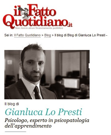 Blog di Gianluca Lo Presti sul Fatto Quotidiano