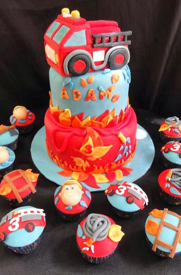 Top Gateau pompier pate a sucre – Les recettes les plus populaires de  CH48