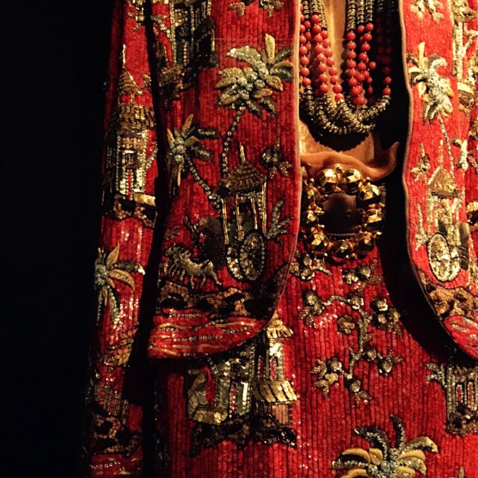 oonaballoona | a sewing blog by marcy harriell | meeting iris apfel at the met