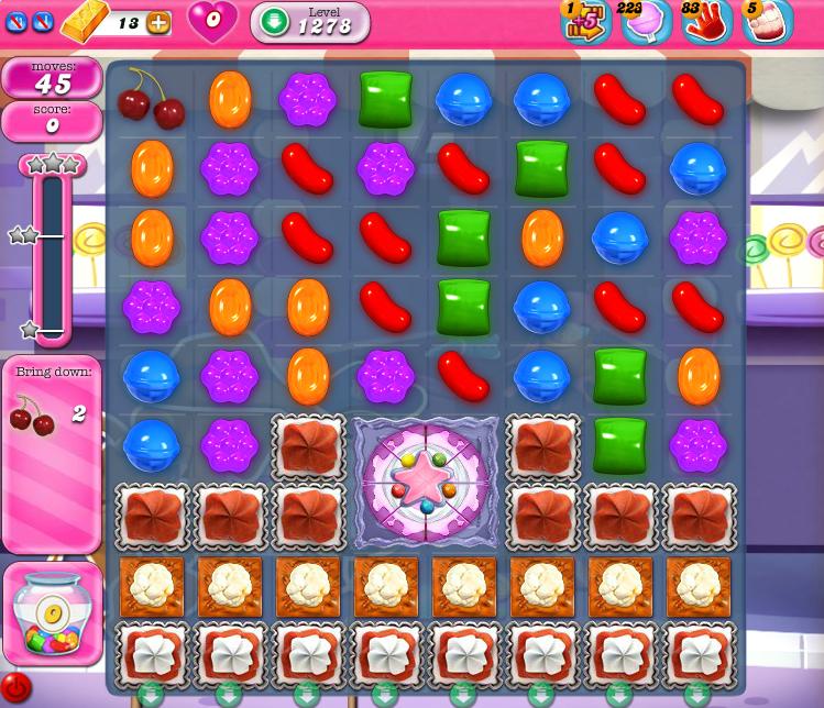 Candy Crush Saga 1278
