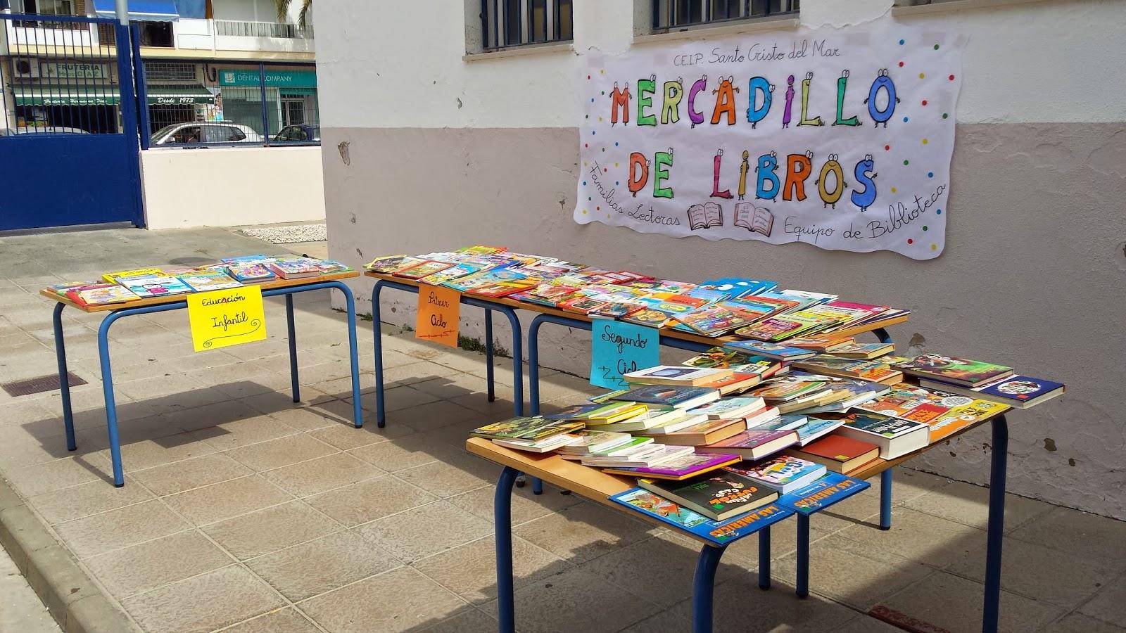 Blog de Cuarto de Primaria : MERCADILLO DE LIBROS