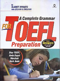 toko buku rahma: buku A COMPLETE GRAMMAR FOR TOEFL PREPARATION, pengarang slamet riyanto, penerbit pustaka pelajar