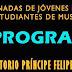 PROGRAMA VII JORNADAS JÓVENES MUSICÓLOGOS