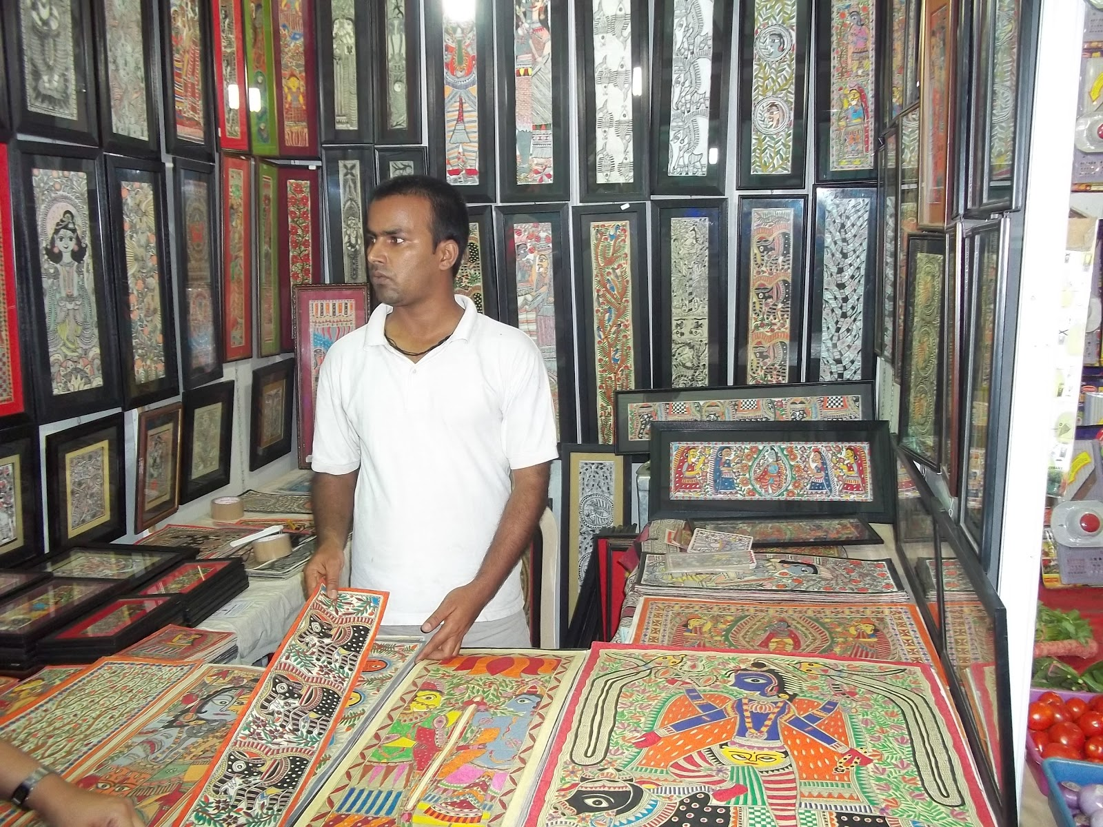 Madhubani Painting of Bihar title=