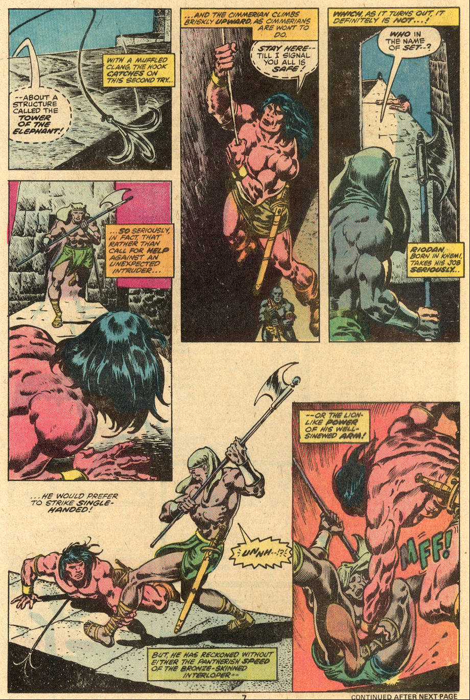 Conan the Barbarian (1970) Issue #86 #98 - English 5