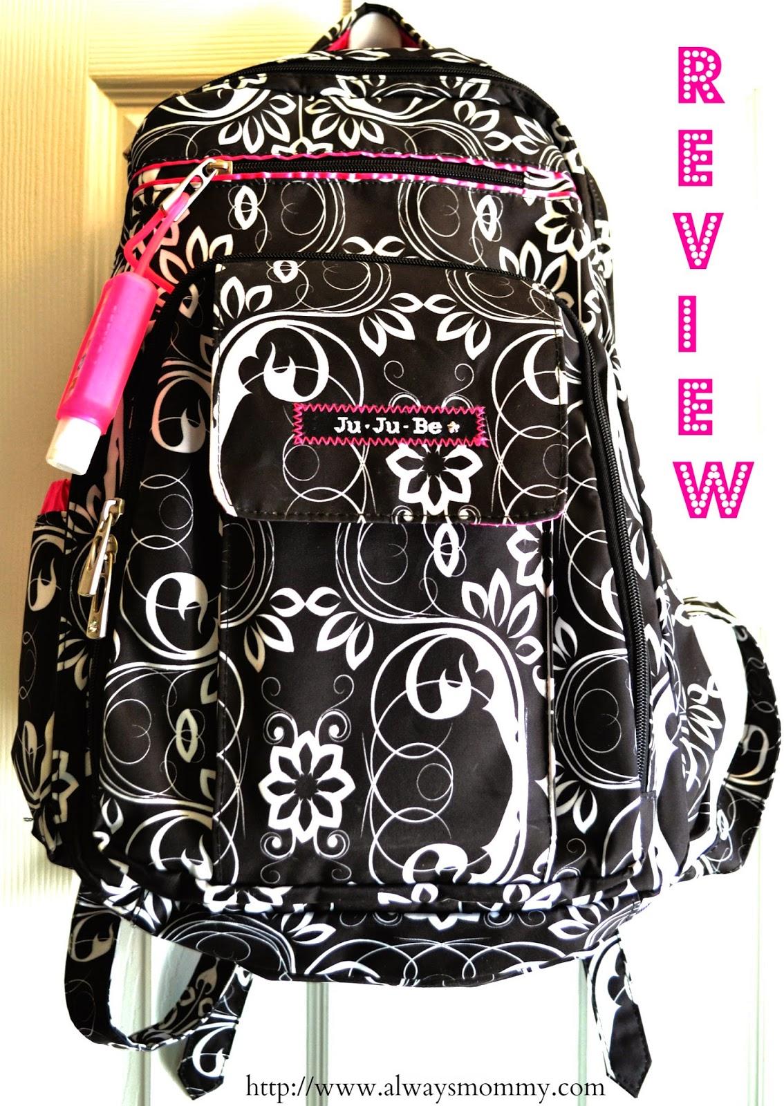 ju ju be backpack diaper bag review always mommy. Black Bedroom Furniture Sets. Home Design Ideas