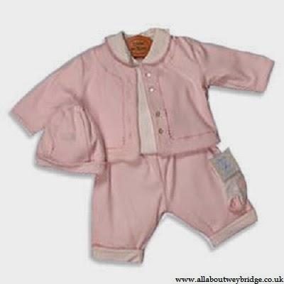 Vétement bébé naissance en rose