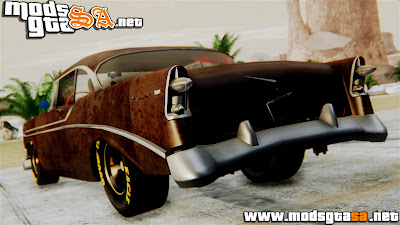 SA - Chevrolet Bel Air 1956 Rat Rod Street