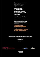 Música, ciudades, redes. Rubén Gómez Muns y Rubén López-Cano (eds.)