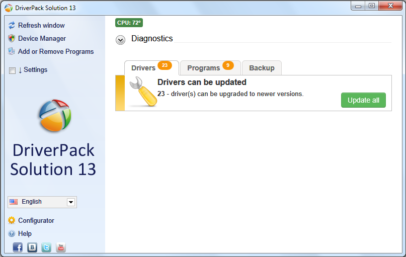 Download Windows DriverPack Solution 2013
