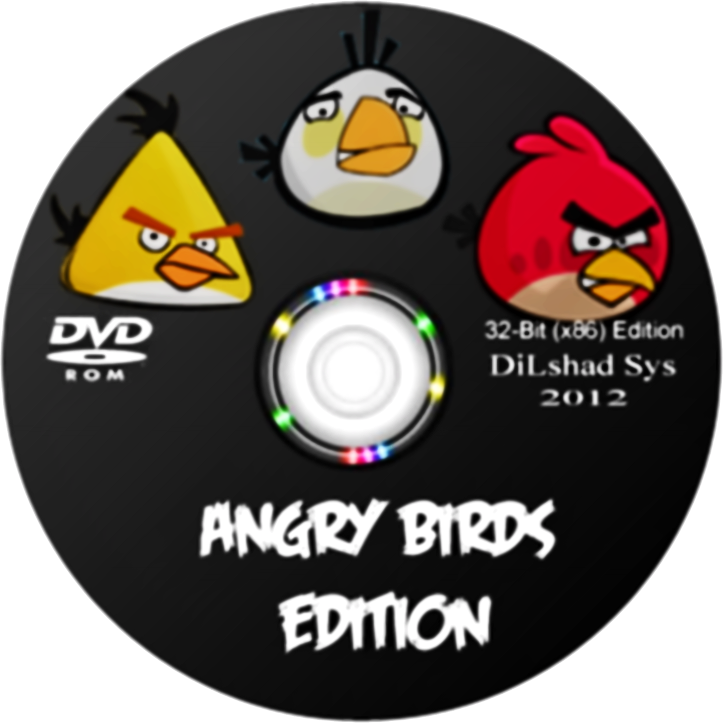 Windows 7 Angry Birds Edition