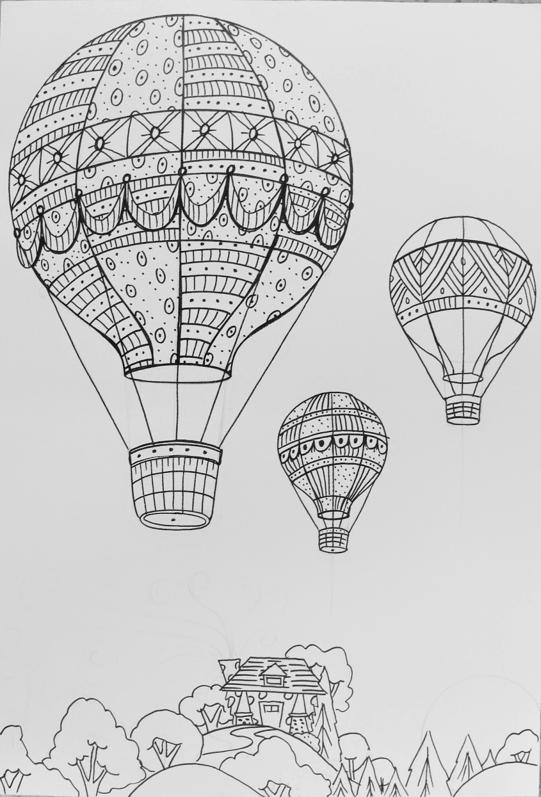 The Lost Sock  Hot Air Balloon Unit
