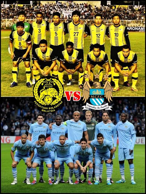 MALAYSIA VS MANCHESTER CITY 30 JULAI 2012