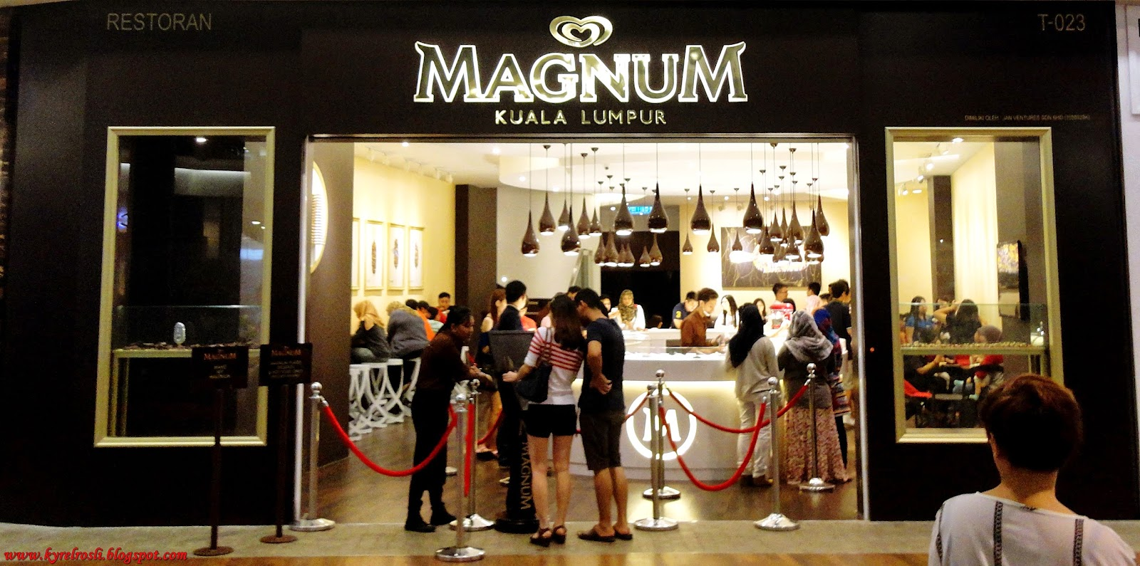 Magnum Cafe - Mid Valley, Kuala Lumpur, Malaysia