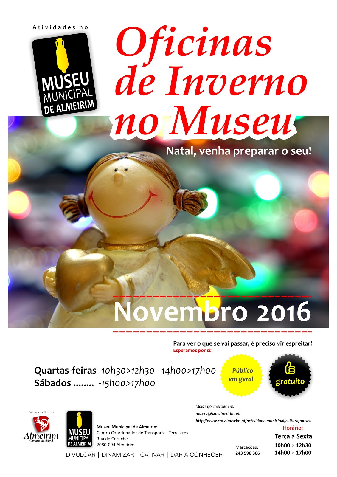 Novembro no Museu: comece a preparar o seu Natal