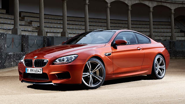 The new BMW M6 Coupe front side