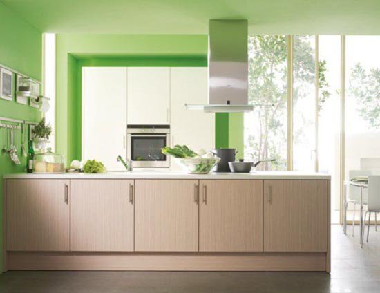 Kitchen Wall Color And Design : Marta decoycina decorar la cocina en verde