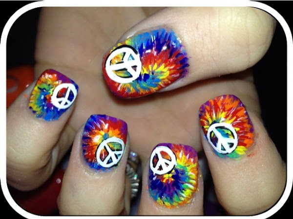 Day 85 - Peace and Tie Dye