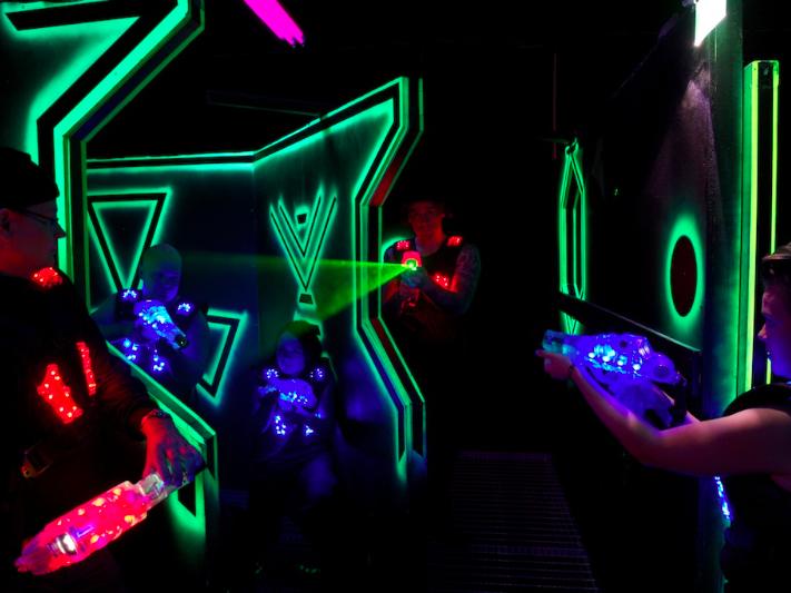 Nuevo juego desbloqueado en Laser Game Ocio Alfafar
