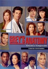 Grey's Anatomy 3 Temporada Dublado