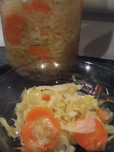 modified sauerkraut