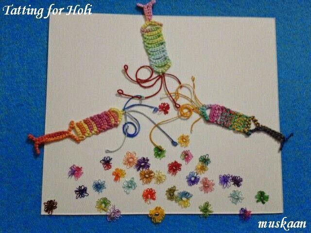 Muskaan's Holi patterns