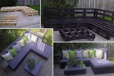 DIY, outdoor decor, palettes, Hometalk