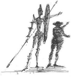 Salvador Dali - Dom Quixote - Cervantes
