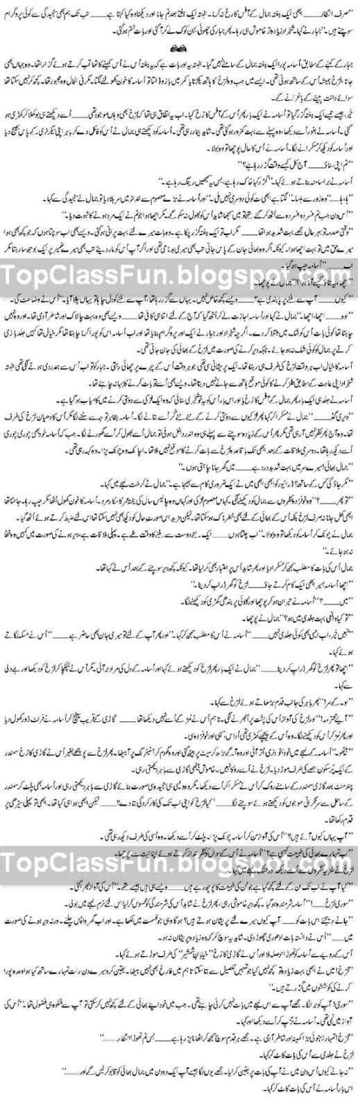Romantic Urdu Novel - MOHABBAT – By Shahina Chanda Mehtab Page 13