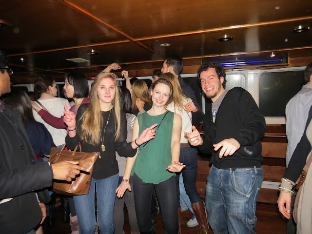 Cruising along River thames party