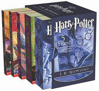 Harry Potter series, Books 1-5