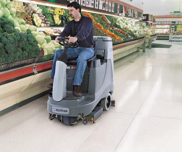 zamboni floor cleaner machine