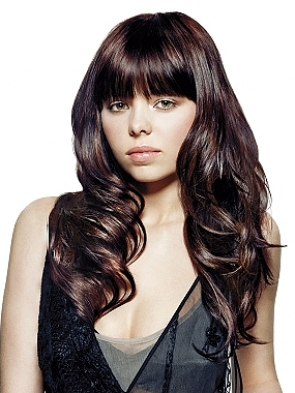 Prom hairstyles with bangs
