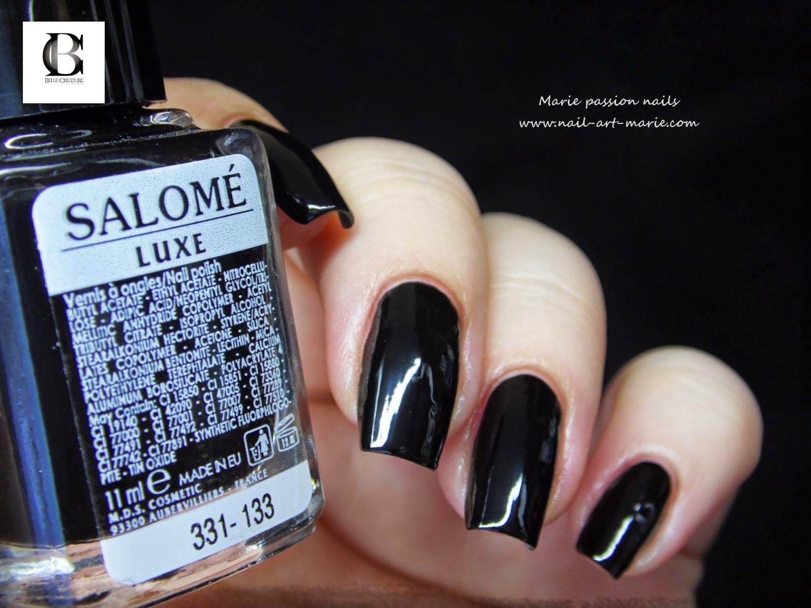 vernis Salomé noir5