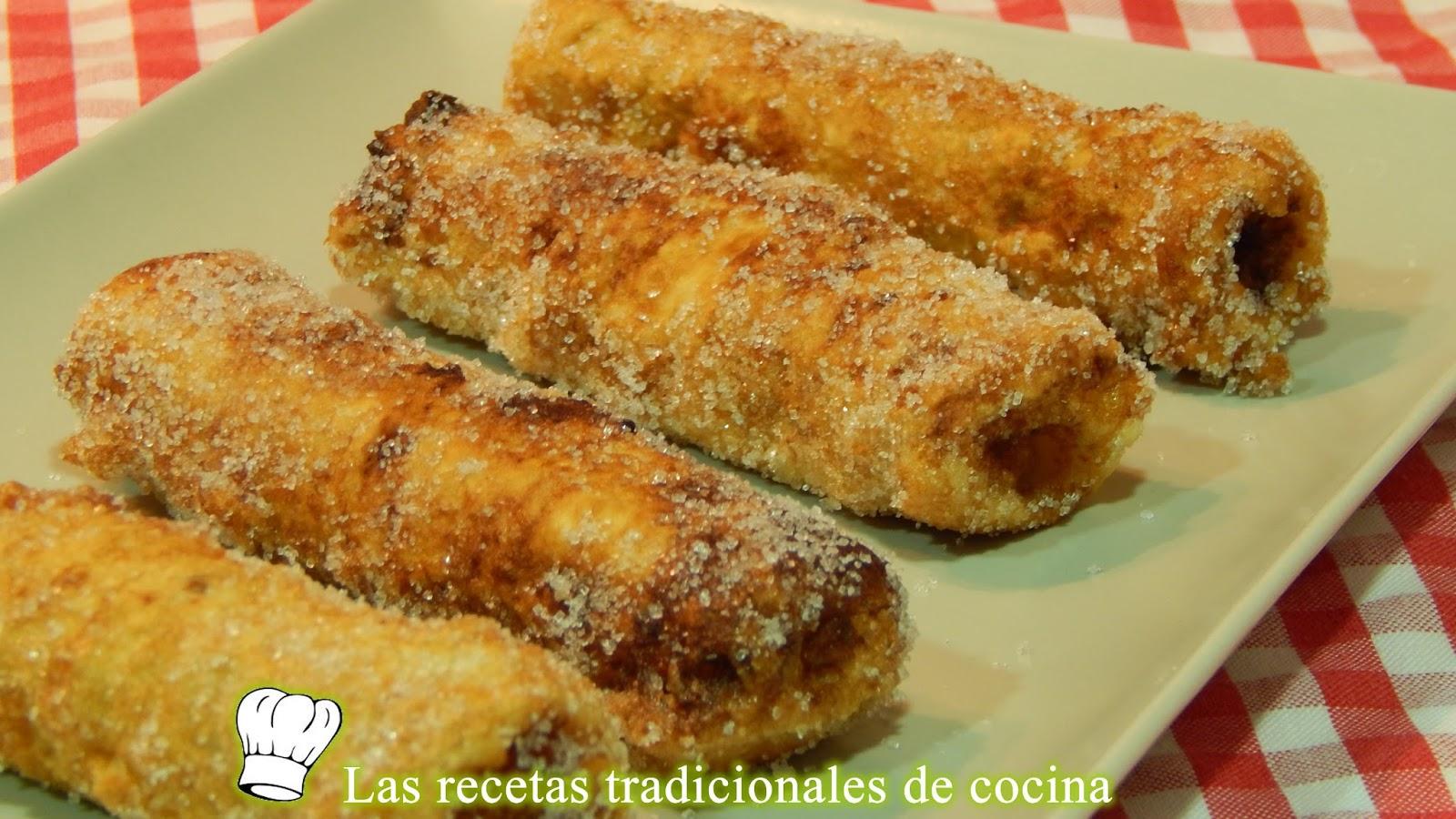 Cmo Hacer Rollitos De Pan De Molde Con Nocilla