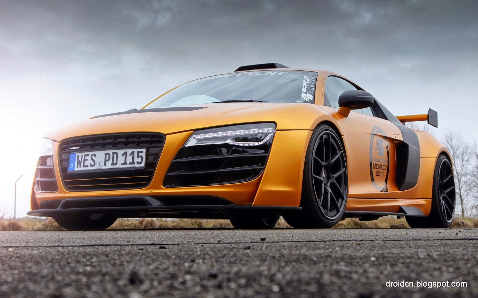 Audi Supercar Hd Desktop Wallpaper Hd Wallpaper